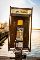 Old Telephone Booth on the Waterfront