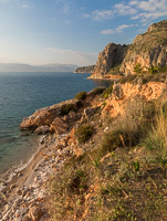 View of the Coast Near Nafplio