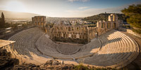 Odeon of Herodes Atticus in the Morning Light