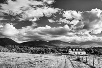 Country House Against Killarney Mountains