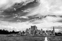 Hore Abbey Under a Dramatic Sky