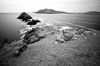 Long Exposure of the Dingle Peninsula