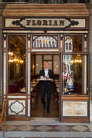 Waiter of the Caffè Florian Coming Out of the Door